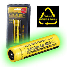 NITECORE NL189 3400mAh Protected 18650 Rechargeable Li-ion Batteries