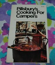 Pillsbury's Cooking for Campers Cookbook Vintage 1975 Pillsbury Collectible RARE