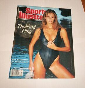 1988 NO LABEL Sports Illustrated Swimsuit ELLE MACPHERSON !