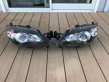 JDM 2010 Subaru Impreza WRX STI GH HID Xenon Headlights Lights Lamps Black OEM