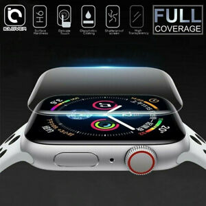 Apple Watch Series 6 5 4 SE 3D Edge Tempered Glass Full Screen Protector 40/44mm