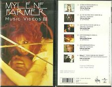 K7 VIDEO / VHS - MYLENE FARMER : BEST OF MUSIC VIDEO III /TAPE
