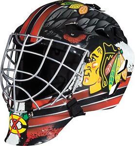 Chicago Blackhawks Unsigned Franklin Sports Replica Full-Size Goalie Mask
