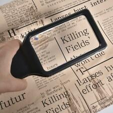 3X Magnifying Glass Handheld Reading Magnifier With 10 Anti-Glare Dimmable LEDs