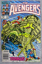 Avengers #257 NEWSSTAND Variant 1st NEBULA! Thanos Daughter KEY Issue BIG PICS!