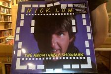 "Nick Lowe The Abominable Showman LP sealed vinyl + 7"" + download"