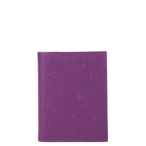 61348 auth HERMES Anemone purple Epsom Couverture Simple PM Agenda Cover