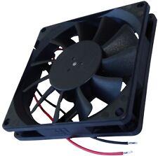 Ventilateur pour boîtier 24V 80x80x15mm 62m3/h 34,7dBA 3000rpm 2.21W 0.092A Vapo