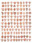 MUSCLE Men Singles CHOOSE: Vintage 1980's Mattel M.U.S.C.L.E. Kinnikuman Figures For Sale