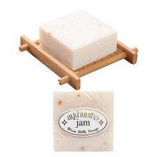 1pc Handmade Rice Milk Soap Collagen Vitamin Skin Whitening Acne Moisturizing