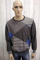 HARMONT&BLAINE Maglione Taglia 2XL Uomo Sweater Pullover Casual Manica Lunga