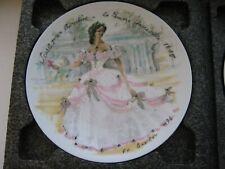 Scarlet 1865 D'Arceau Limoges France Collector Plate Women Century Ganeau 1976 L