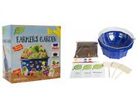 Childrens  Grow Your Own Fruit & Vegetable Garden Plants Educational Craft Kit