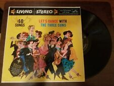 The Three Suns Let's Dance With The Three Suns RCA Victor 1958 LP