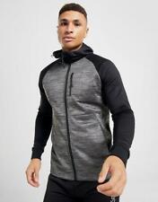 New Gym King Men's Raglan Train Full Zip Hoodie