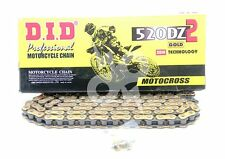 DID 520 x 120 Links DZ2 Offroad Series non-Oring Gold Chain