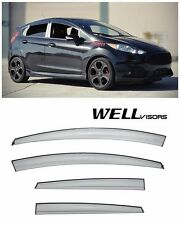For 11-UP Ford Fiesta Hatchback WellVisors Side Window Visors Aerodyn Series