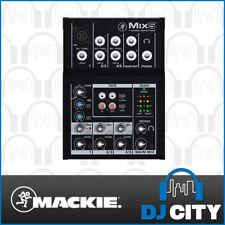 Mackie Mix 5 Compact Portable PA Mixer 5 Channel Input - DJ City Australia