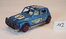 Majorette 1/60 Nr. 231 Citroen Dyane Rallye blaumetallic Startnummer 37 #112