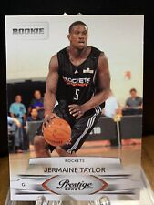 2009-10 Prestige #182 Jermaine Taylor RC