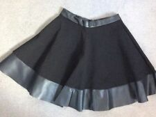 Topshop Party Regular Size Faux Leather Skirts for Women
