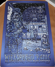 VARIANT Widespread Panic 2016 Brooklyn NY Coney Island Print Poster David Welker