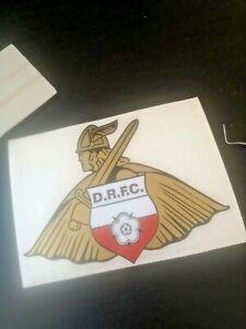 DONCASTER ROVERS FC custom made football car, bumper, window sticker/decal