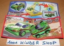 KINDER RACE UN056 UN 56 VOITURE SPORT CAR + BPZ