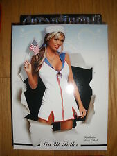NEW WOMEN'S 3PC SEXY *PIN UP SAILOR* HALLOWEEN COSTUME SIZE SMALL/MEDIUM 4-10