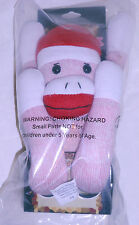 New In Package, The Original Sock Monkey! Rugged and Durable Color: Pink