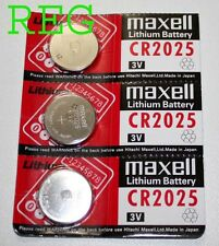 3x Pile Bouton Ronde Lithium CR2025 3V Maxell
