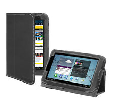 Samsung Galaxy Tab 2 7.0 (7-inch) Tablet Platform Stand Black Leather Cover Case