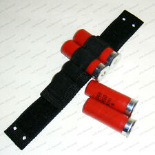 Tactical Shotgun 12 G 20 G 4 Shells Holder Forend Strap for Mossberg Remington