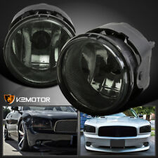Smoke 2006-2009 Dodge Charger Caravan Caliber Bumper Fog Lights w/Switch+Bulbs