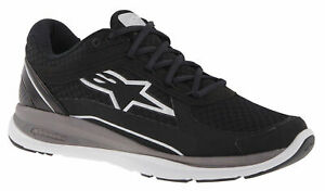 Alpinestars Casual Trainers - 100 Running Shoes Black / White Light Weight