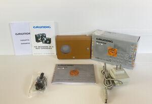 Grundig G-2000A World Receiver AM/FM/SW Radio F.A. Porsche   Never Used