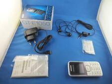 Original Samsung GT-E1050 Handy Simlockfrei Weiss White Unlocked Neu New 1050