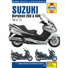 Suzuki Burgman AN250 AN400 1998-2011 Haynes Workshop Manual