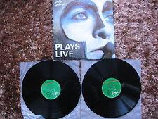 PETER GABRIEL Genesis Plays Live 2 LP / 2 Vinyl DIFFERENT 1st Pressing 1987!