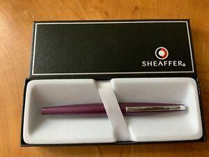 Sheaffer Taranis 9447 Purple Fountain Pen RRP £99 Fine(New) Free UK Post