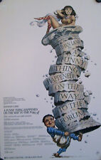 A FUNNY THING HAPPENED ON THE WAY TO THE FORUM ORIGINAL CAST WINDOW CARD