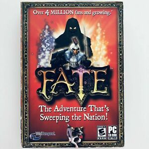 FATE ORIGINAL GAME (PC, 2006) WITH BOX - CD-ROM COMPUTER GAME - FANTASY GAME CIB