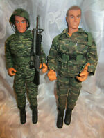 "Power Team Elite World Peacekeepers Military Army 12"" Action Figures"