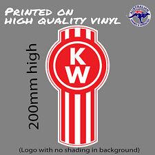 KENWORTH Trucks logo (with no shading) decal  UTE TOOLBOX CAR WINDOW STICKER