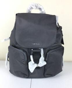 Tumi Voyageur Rivas Nylon Laptop Backpack - Iron Gray NWT $475