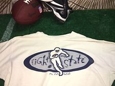 NIKE Penn State FIGHT ON STATE Men's T Shirt Large  Regular Fit C4