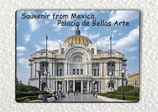 SOUVENIR FROM MEXICO, PALACIO DE BELLAS ARTE FRIDGE MAGNET -fnj6Z