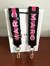 MARC JACOBS Logo Snapshot  black pink Strap - hot sales