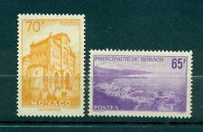 Monaco 1957 - Y & T  n. 487/88 - Vues de la principauté
