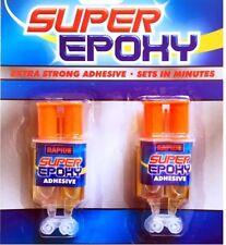 Impostazione rapida Resina Epossidica Adesivo SIRINGA VETRO CERAMICA PLASTICA SUPER GLUE